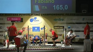 FABIANO FULVI - 2° BENCH PRESS - 165 KG