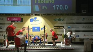 FABIANO FULVI - 3° BENCH PRESS - 170 KG